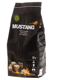 MUSTANG fire starters ECO 72PCS