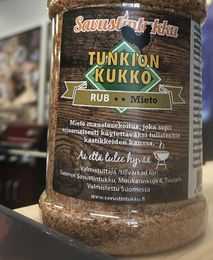 Our own competioin blend basic rub, best in  Finland