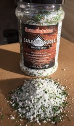 Salt bled for cold smoking and curing