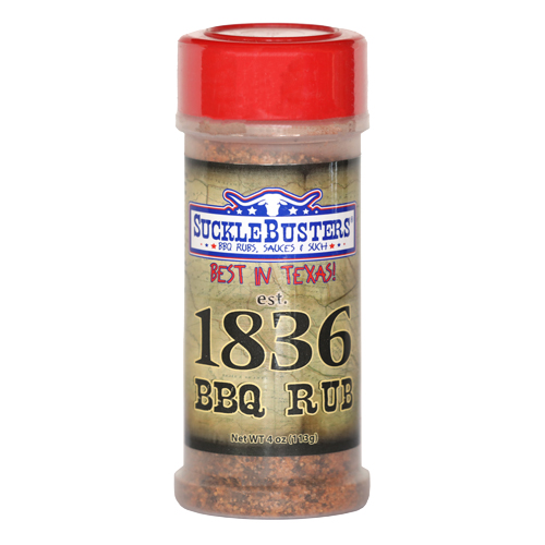SuckleBusters 1836 Beef Rub 113g-4oz
