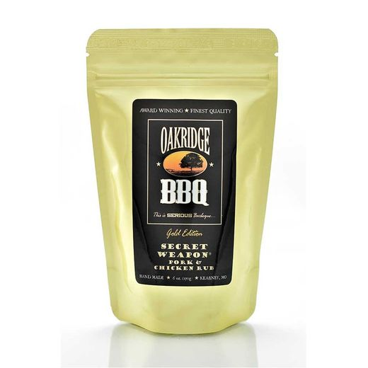 Oakridge Secret Weapon Pork and Chicken Rub ( 6oz/170g)