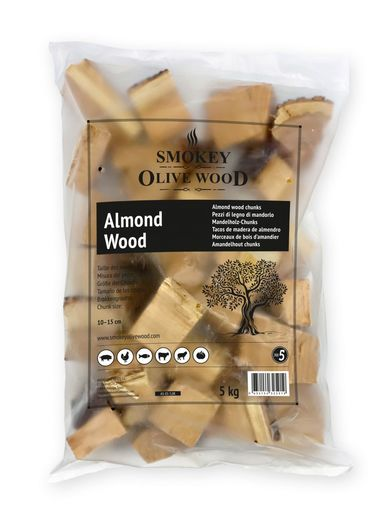 Smokey Olive Wood – Almond Chunks Nº5