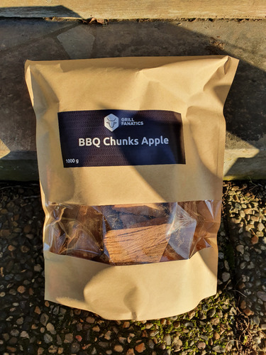 Grill Fanatics Chunks Apple 1kg