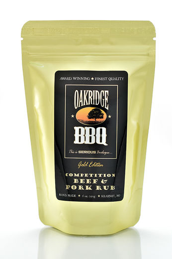 Oakridge Competition Beef and Pork Rub ( 6oz/170g)