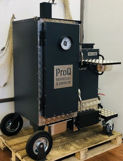 ProQ GFC 2150 - Commercial BBQ Smoker - Total Black