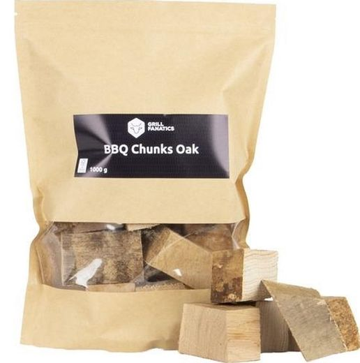 Grill Fanatics Chunks Oak1kg