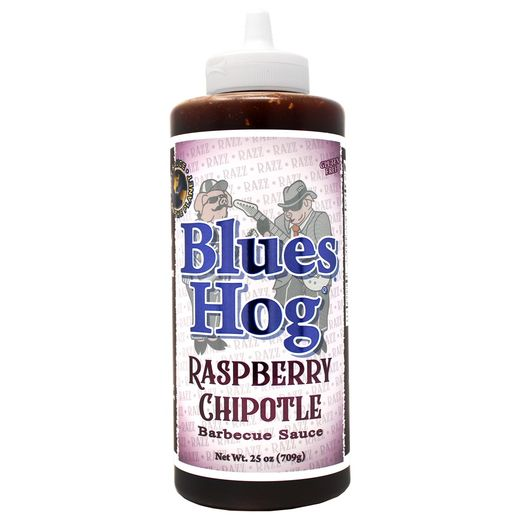Blues Hog Squeeze bottle: Raspberry Chipotle Sauce 25 oz. 709g