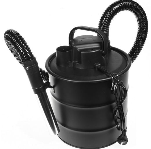 Vacuum cleaner for pellet grills