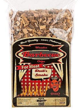 Devils Smoke, mixed bbq wood 5-12 mm