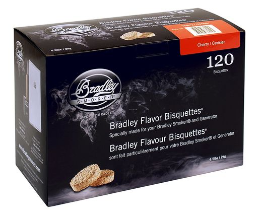Bradley Smoker Bisquettes 120 Pack - Cherry